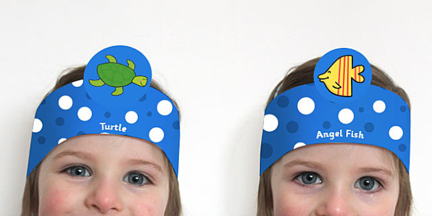 Role Play Headbands to Support Teaching on Commotion in the Ocean - roleplay, props