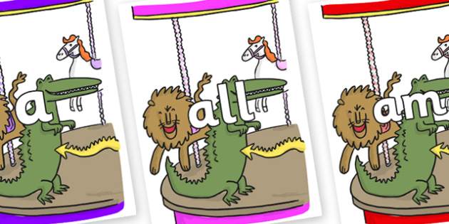 Foundation Stage 2 Keywords on Trick 3 to Support Teaching on The Enormous Crocodile - FS2, CLL, keywords, Communication language and literacy,  Display, Key words, high frequency words, foundation stage literacy, DfES Letters and Sounds, Letters and