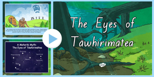 The Eyes of Tawhirimatea Story PowerPoint