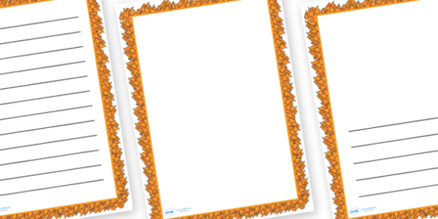 Fire Page Border - fire, page border, writing frame, writing