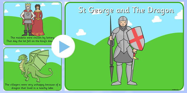 St George's Day Story PowerPoint - story, powerpoint, st george
