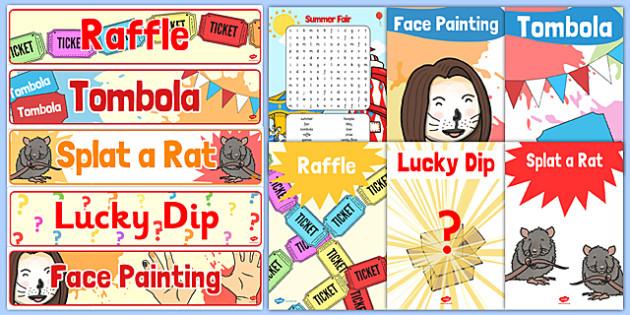 Summer Fair Resource Pack - summer, fair, summer fayre, fayre, summer fair, summer fete, fete, resource, pack, fayre