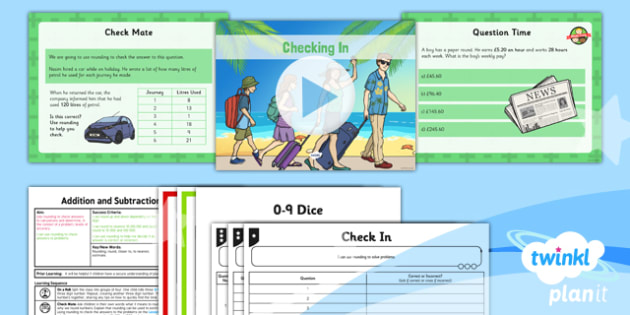 PlanIt Maths Y5 Addition and Subtraction Lesson Pack Rounding (3)