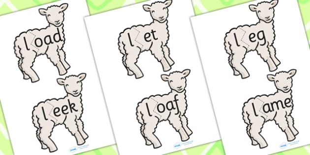 l Sound And Vowel Animal Jigsaw - sounds, vowels, jigsaw, animals