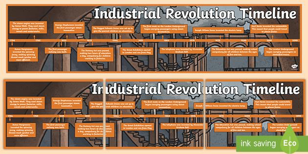Uks2 Industrial Revolution Timeline Teacher Made