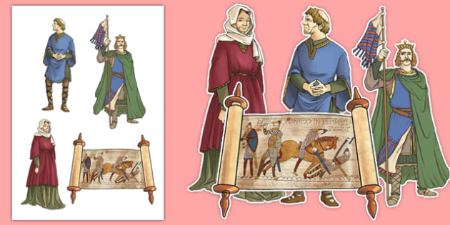The Normans Display Cut Out Pack - the normans, display, cut out, pack