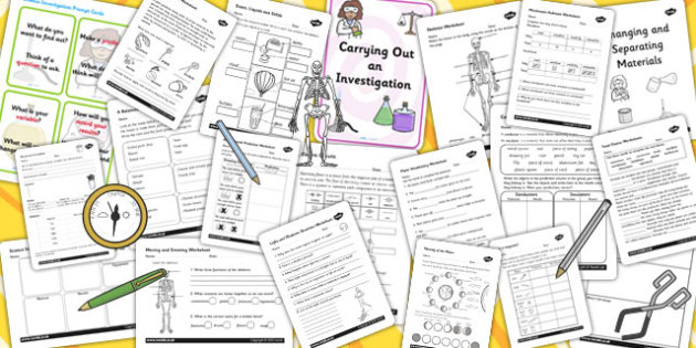 KS2 Teaching Assistant Science Resource Pack - KS2, Resource