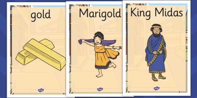 King Midas Display Posters - king midas, display posters, display
