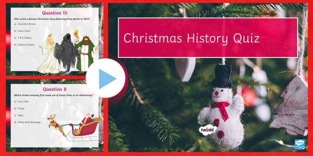 christmas history differentiated quiz pack powerpoint quiz kings december facts