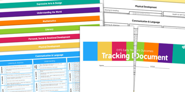 EYFS Outcomes Tracking Document September 2014 16 Months to ELG