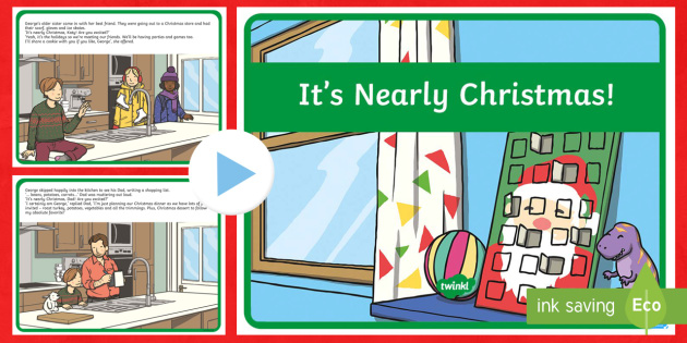 It's Nearly Christmas Story PowerPoint - Christmas, story, powerpoint, seasonal, culture