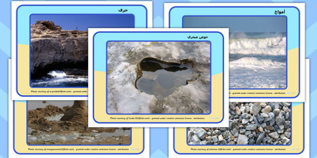 صور عرض عن شاطئ البحر عربي