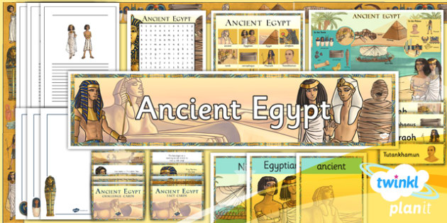 History: Ancient Egypt LKS2 Unit Additional Resources