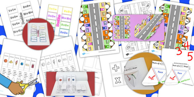Maths Interactive Visual Aids Resource Pack - Visuals, interact