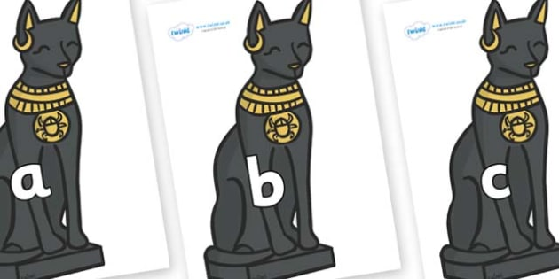 Phase 2 Phonemes on Egyptian Cats - Phonemes, phoneme, Phase 2, Phase two, Foundation, Literacy, Letters and Sounds, DfES, display