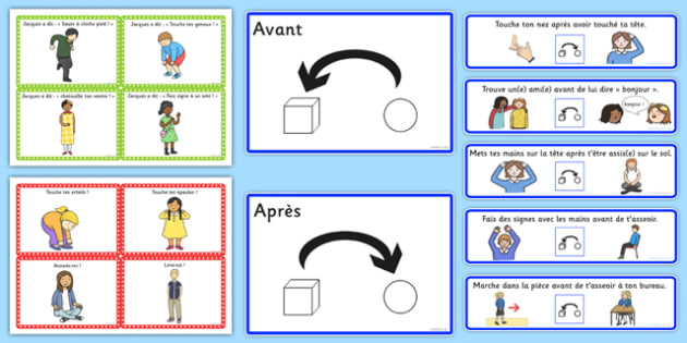 Jacques A Dit Activity Pack - french, language, jacques a dit, simon says, activity, pack