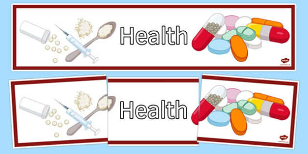 Health Display Banner - health, display banner, display, banner