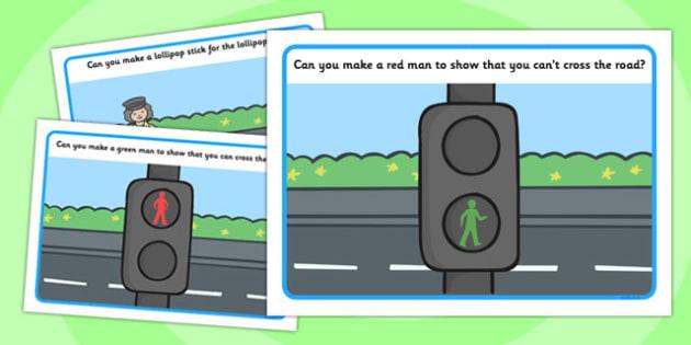 Road Safety Playdough Mats - road signs, give way, one way, mat, activity, playdough, stop, road safety, rules