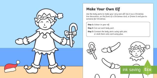 Make Your Own Elf Craft