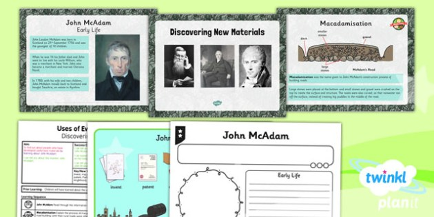 Science: Uses of Everyday Materials: Discovering New Materials Year 2 Lesson Pack 6