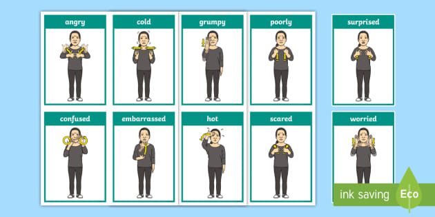 Baby Sign Language Beginner Signs | Selectsoft  |Sign Language Signs For Emotions