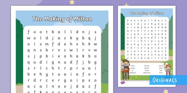 making a calendar in word