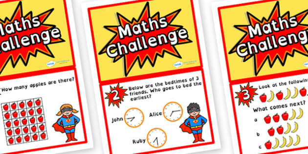 Year 2 Maths Challenge Cards Dyslexia - dyslexia maths challenge cards, year 2 maths challenge cards in dyslexia font, sen maths challenges, year 2 maths