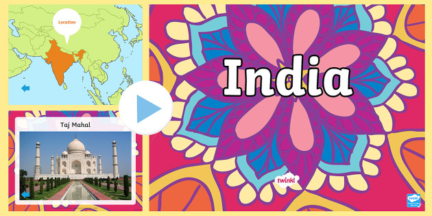 India Information PowerPoint - india, india powerpoint, information