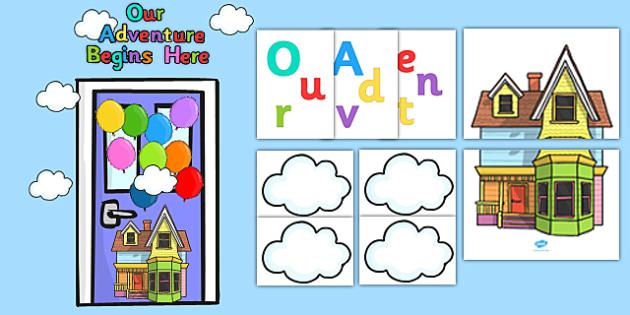 Our Adventure Begins Here Door Display Pack - display, pack