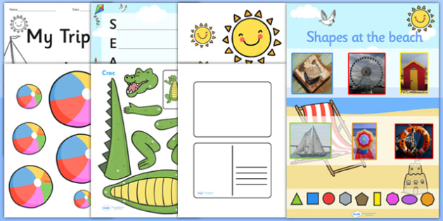 T T 10975 Seaside Themed Ks1 Lesson Plan Ideas And Resource Teaching Pack on 8 How To Write As In Cursive