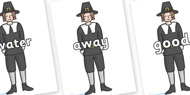 Next 200 Common Words on Pilgrims - Next 200 Common Words on  - DfES Letters and Sounds, Letters and Sounds, Letters and sounds words, Common words, 200 common words