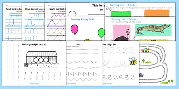 Ta fine motor skills resource pack teaching assistant for Fine motor skills assessment checklist