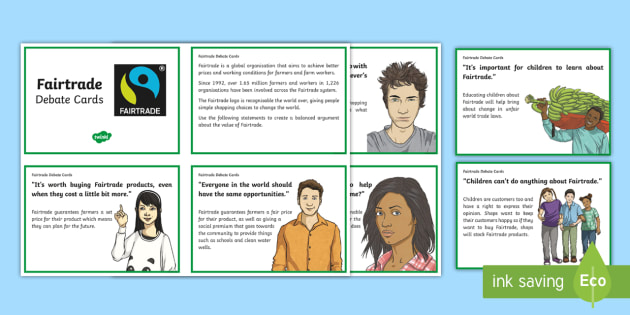 KS2 World Fairtrade Day Chocolate Debate Activity - UK World Fairtrade Day, Fairtrade, debate, fair price good working conditions, world, balanced argum