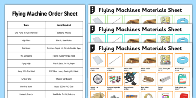 Year 5 Flying Machines Column Addition Activity Pack - add, written method, columnar addition, four digits, column addition, addition, differentiated