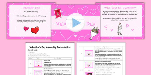 Valentines Day Assembly Pack  valentines day assembly pack