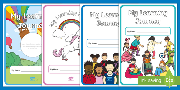 My Learning Journey Book Cover - my learning journey, book