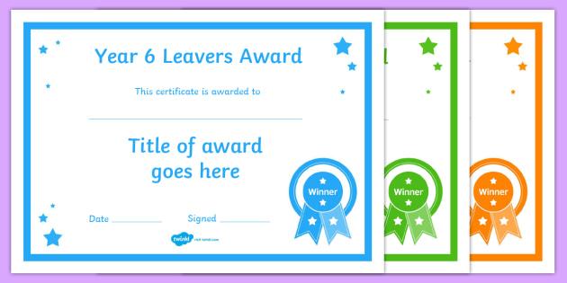Year 6 leavers award editable certificates year 11 leavers year 6 leavers award editable certificates year 11 leavers award certificates editable template year yelopaper Gallery