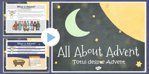 All About Advent PowerPoint Romanian Translation - romanian, all about, advent, christmas, powerpoint