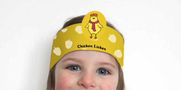 Chicken Licken Role Play Headband - roleplay, story books, books