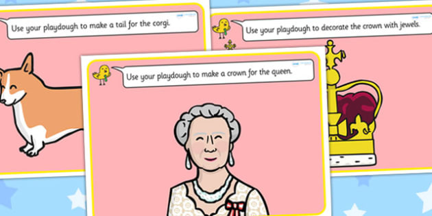 Jubilee Playdough Mats - diamond jubilee, jubilee, queen, mat, activity, playdough, queen's, wedding anniversary, roay family, Queen Elizabeth II, Elizabeth II, sapphire