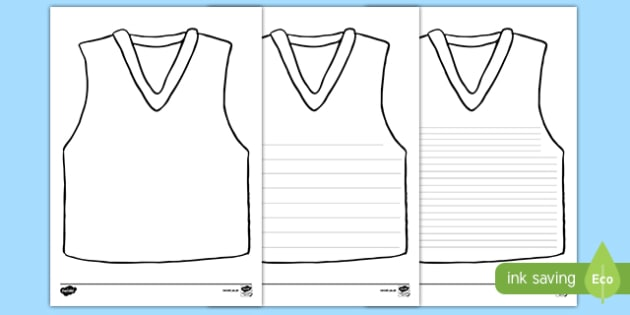 AFL Jersey Activity Sheet