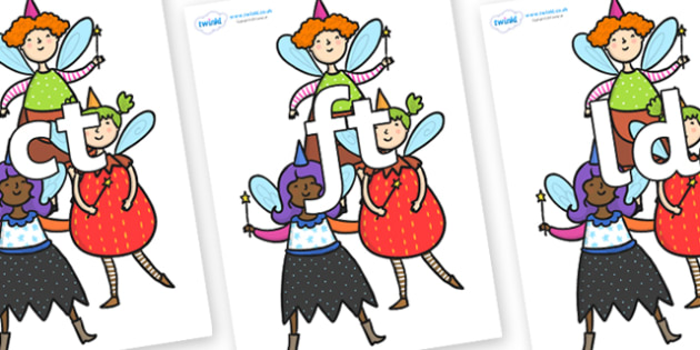 Final Letter Blends on Good Fairies - Final Letters, final letter, letter blend, letter blends, consonant, consonants, digraph, trigraph, literacy, alphabet, letters, foundation stage literacy
