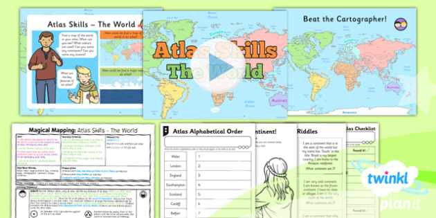 Geography: Magical Mapping: Atlas Skills The World Year 2 ... on logic mapping, technology mapping, language mapping, industry mapping, identity mapping, africa mapping, ocean mapping, food mapping,