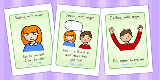 SEL How To Help Your Anger Posters - SEL, behaviour management