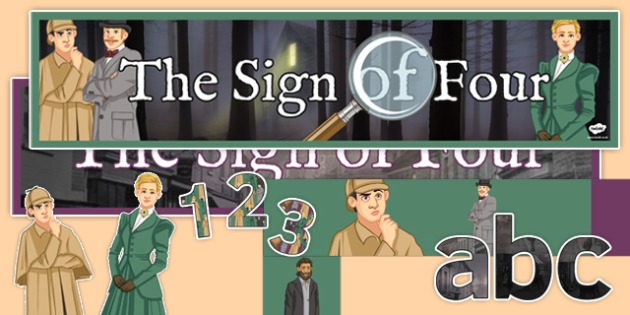 Sign of Four Display Pack - sign, four, sign of four, display pack, display, pack