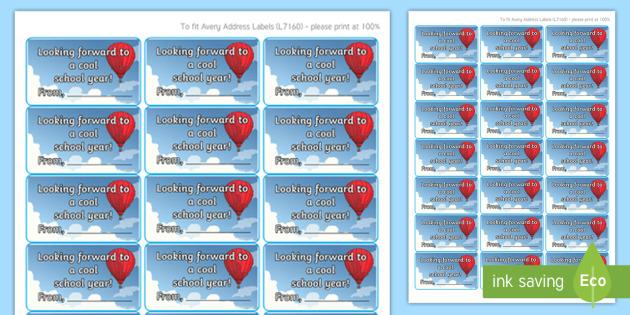 ice pop label gift card template irish roi back to school