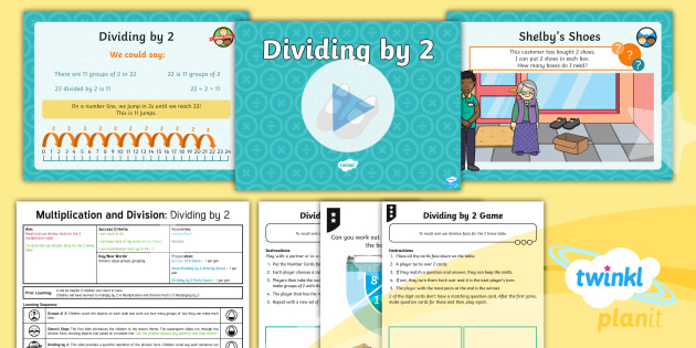 Dividing by 2 Lesson Plan - Year 2 Maths