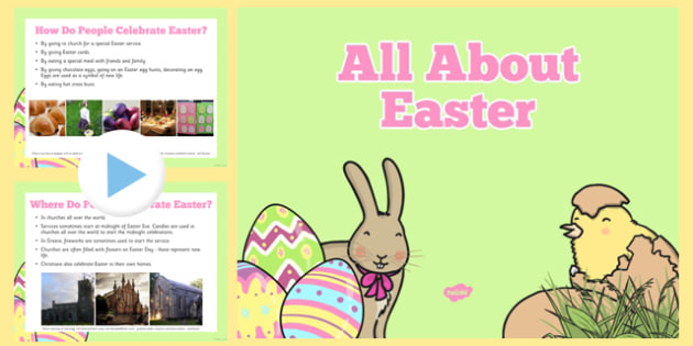 EYFS All About Easter PowerPoint - easter, information, eyfs, all about easter, powerpoint