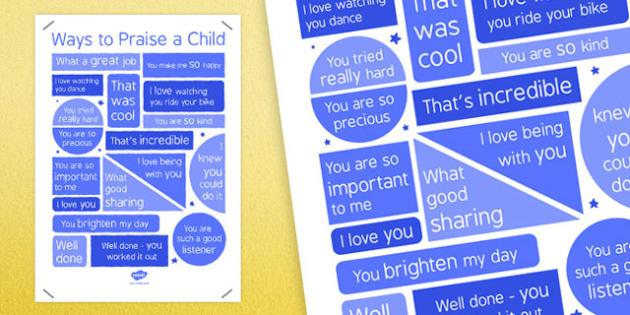 Ways to Praise Your Child (Parent) - ways, praise, child, parent