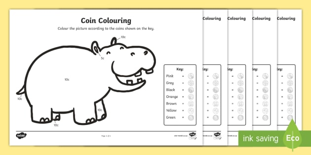 coin colouring worksheets money south african coins currency colouring. Black Bedroom Furniture Sets. Home Design Ideas
